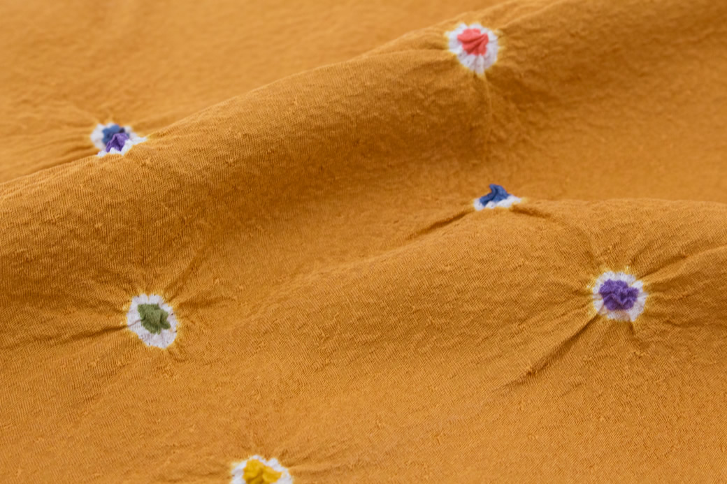 カジュアルにおすすめな正絹の帯揚げ
