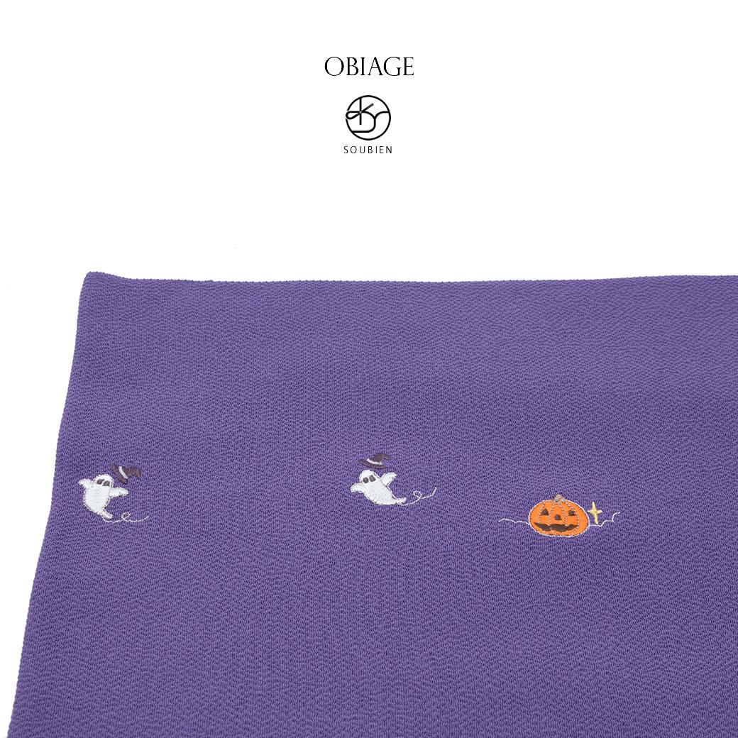 紬などオシャレ着におすすめな正絹の帯揚げ