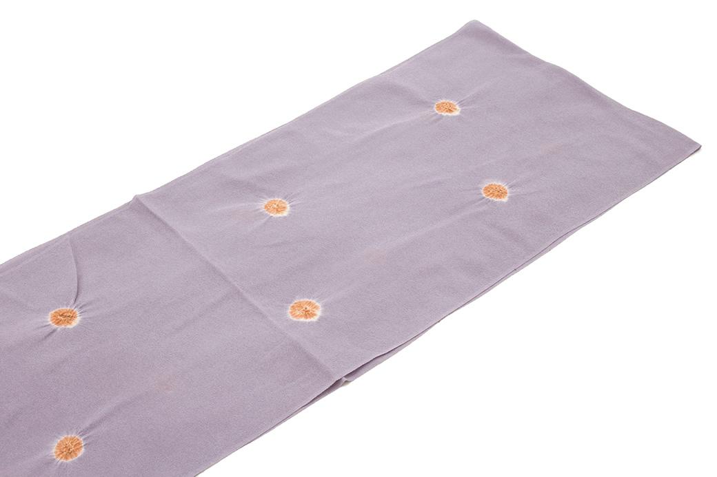 シンプルで締めやすい正絹の帯揚げ