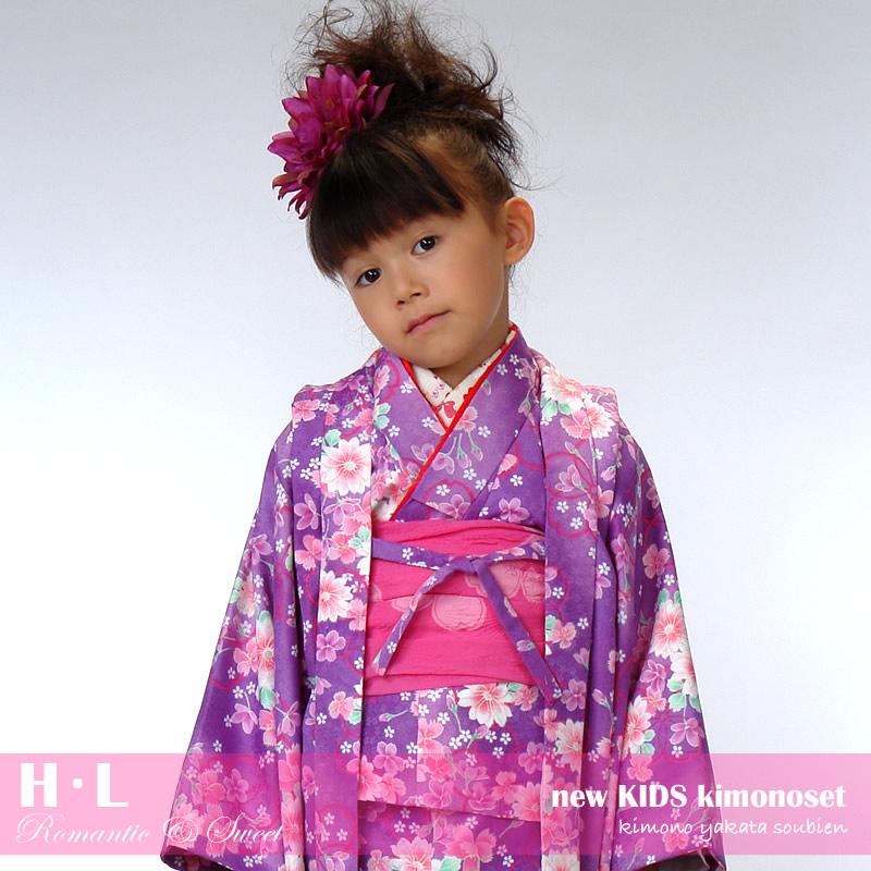 七五三を彩る女の子用の三歳着物セット
