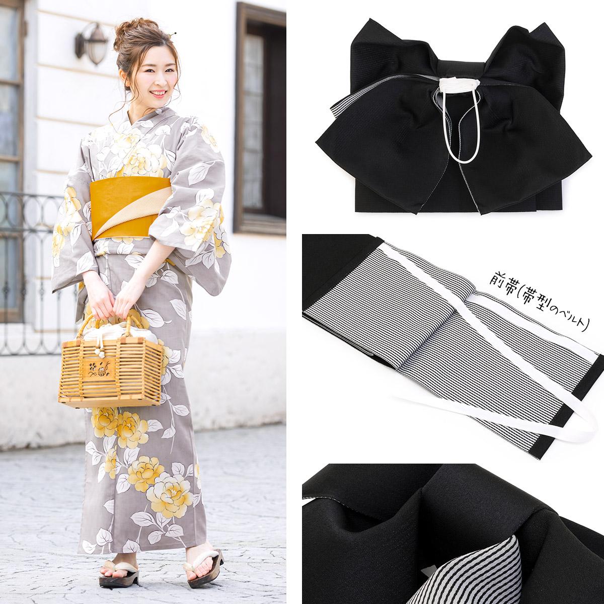簡単に装着できる日本製作り帯