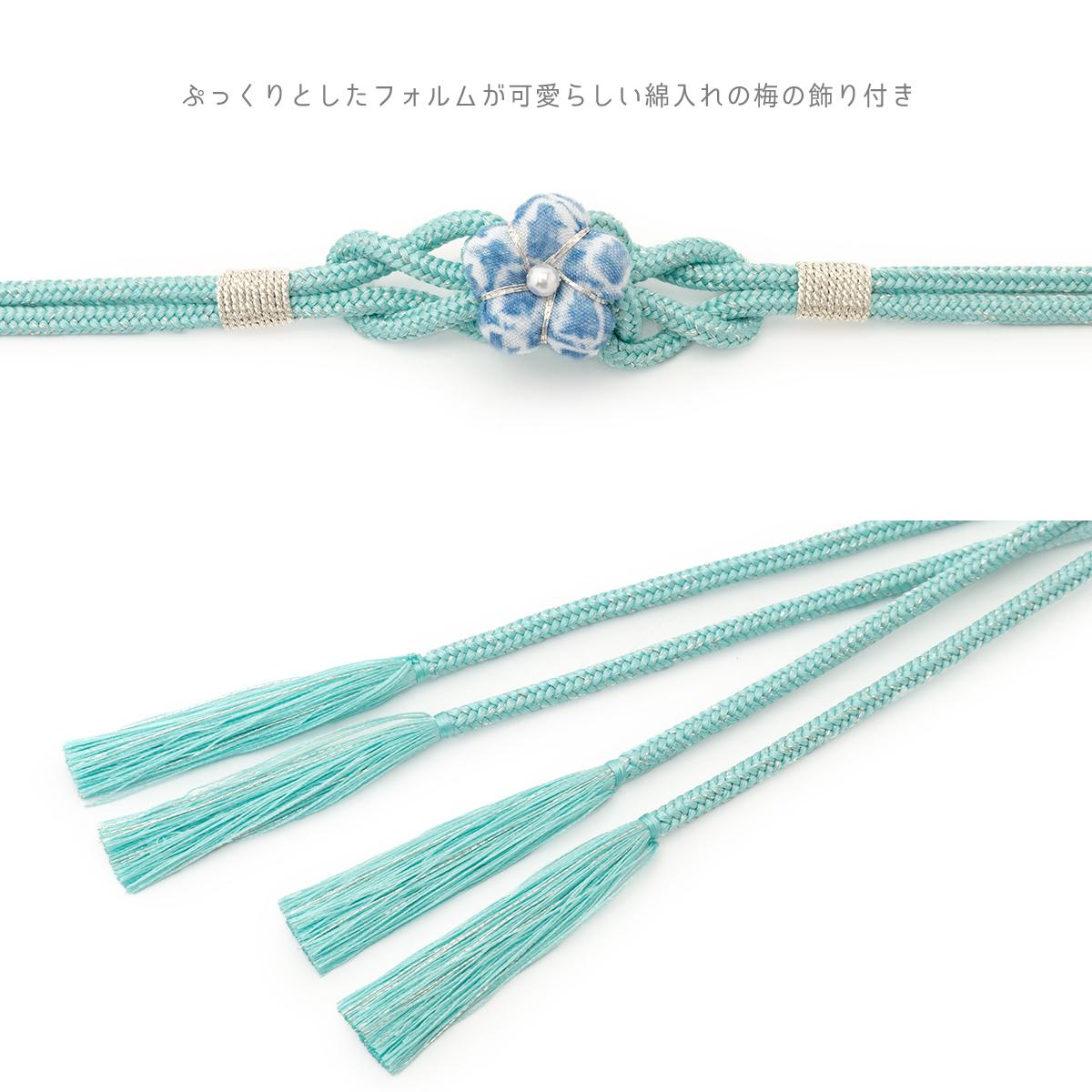 花モチーフの飾り紐