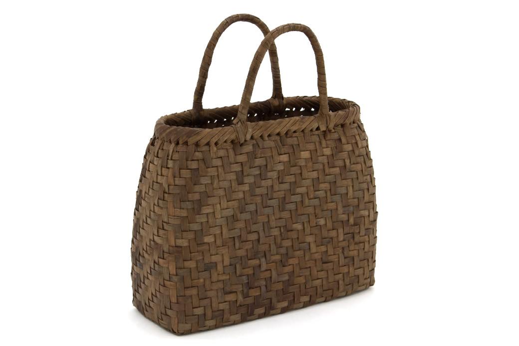 「彩小径」和洋兼用のかごバッグ