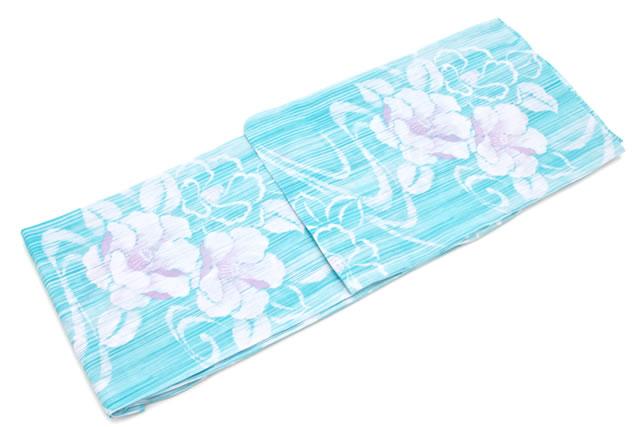 お祭りや花火大会に!ブランド『ボヌールセゾン』の清涼レディース浴衣