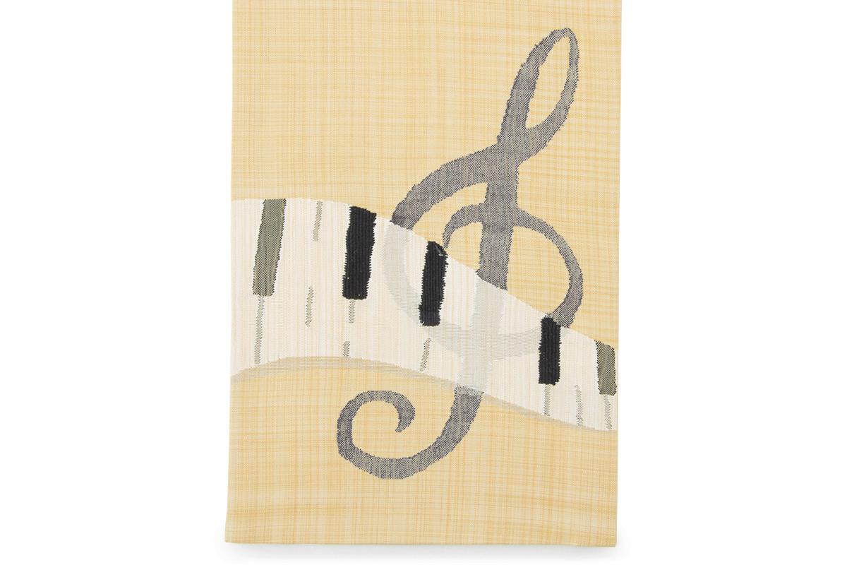 しなやかで結びやすい正絹細帯