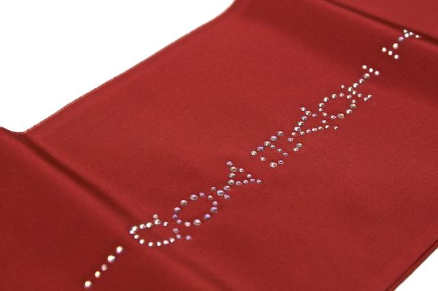 着物スタイルの衿元を輝かせる刺繍半襟