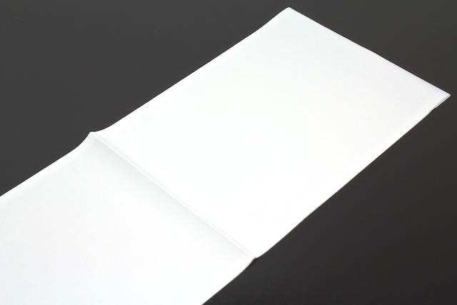 シンプルな白半衿