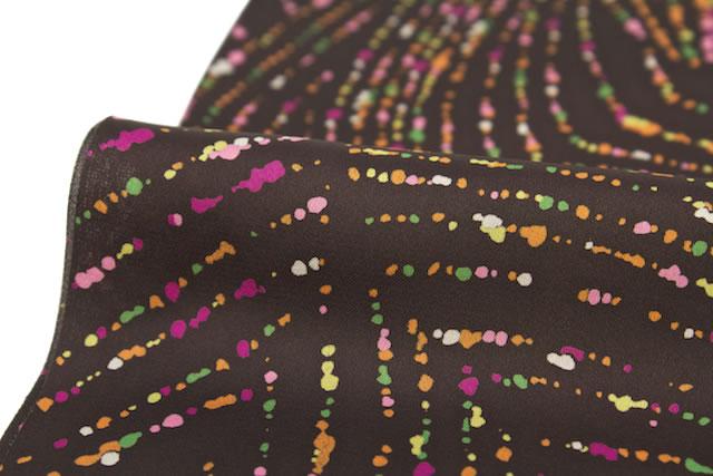 プリント柄のカジュアルな日本製半衿