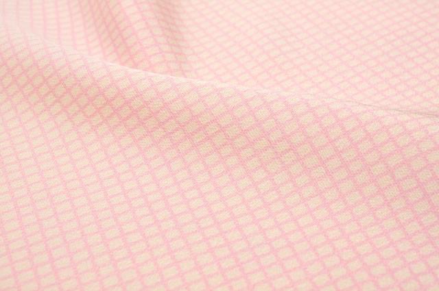 シンプルチェックの正絹帯揚げb