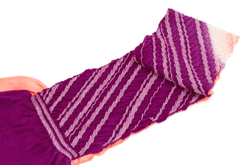 色留袖や色無地におすすめな正絹の帯揚げ
