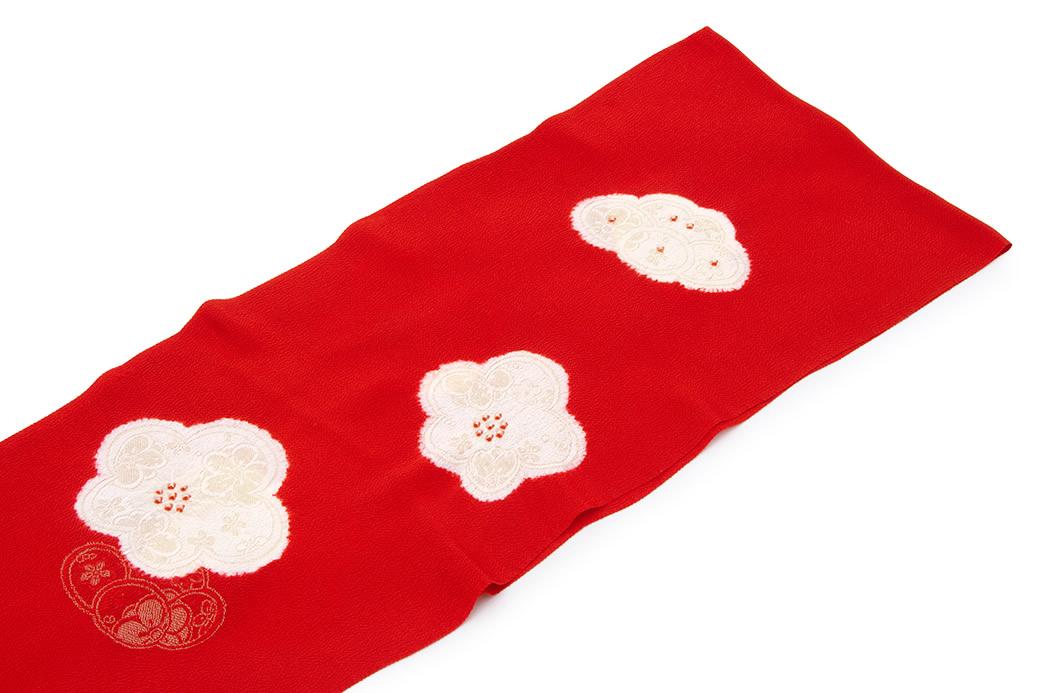 柔らかくて締めやすい正絹の帯揚げ