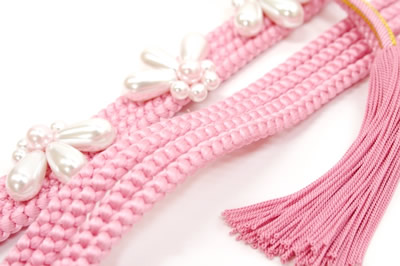 成人式帯締め振袖帯締め振袖用帯締めピンク風合い