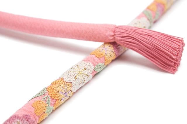 正絹の振袖向け帯締め
