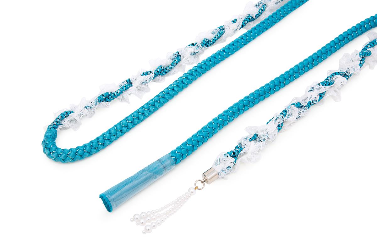 正絹組み紐の豪華な帯締め