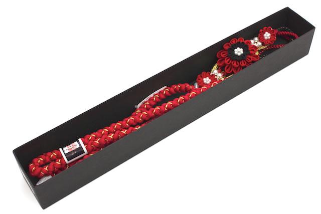 珍しい装飾付き正絹帯締め
