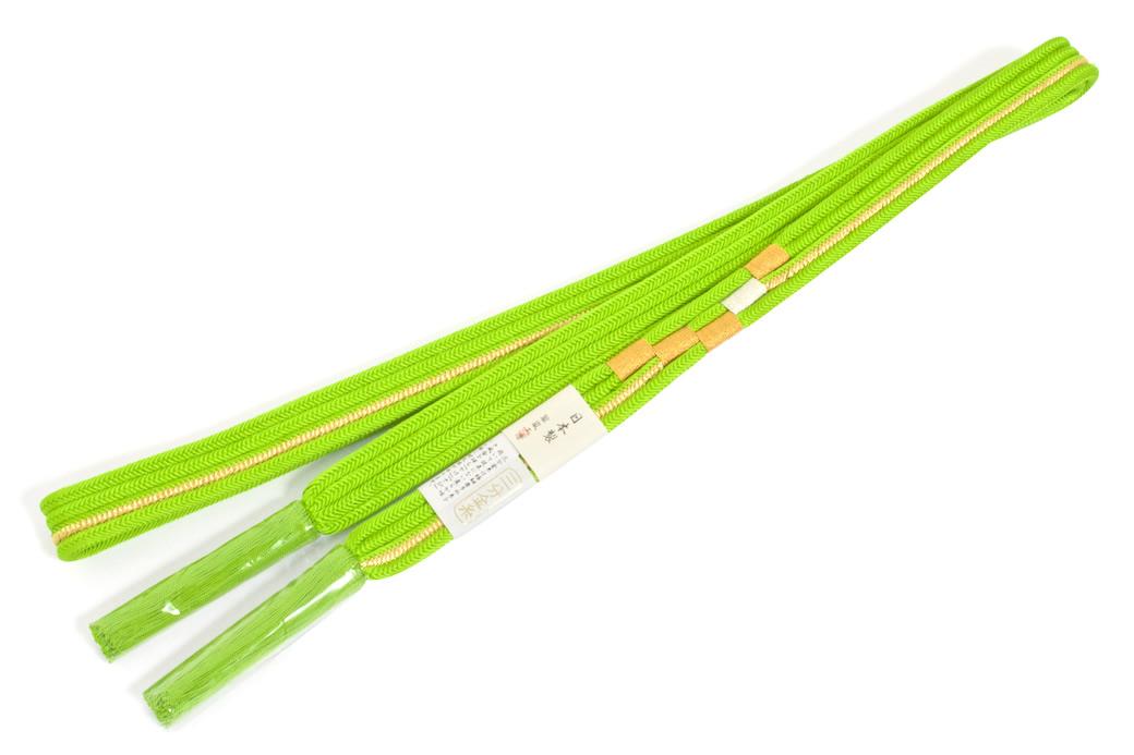 日本製の成人式の振袖向け正絹帯締め