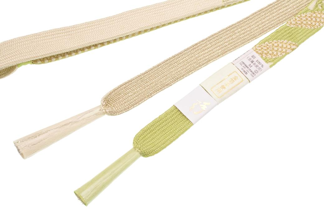 振袖や特別な日の着物を彩る正絹帯締め