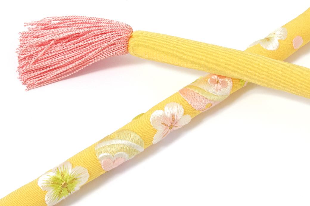 正絹日本製の丸ぐけ帯締め