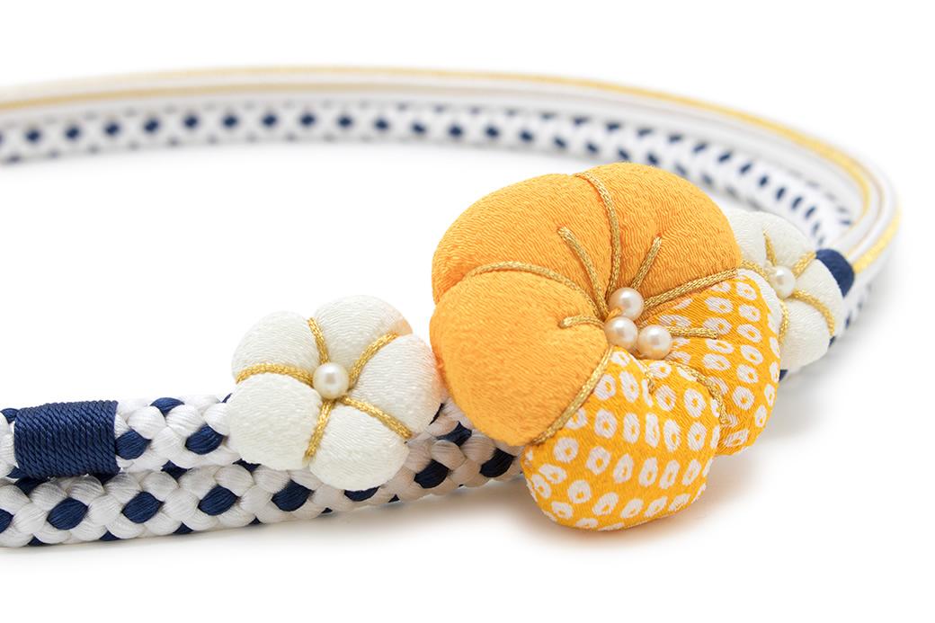 成人式の振袖を彩る日本製の帯締め