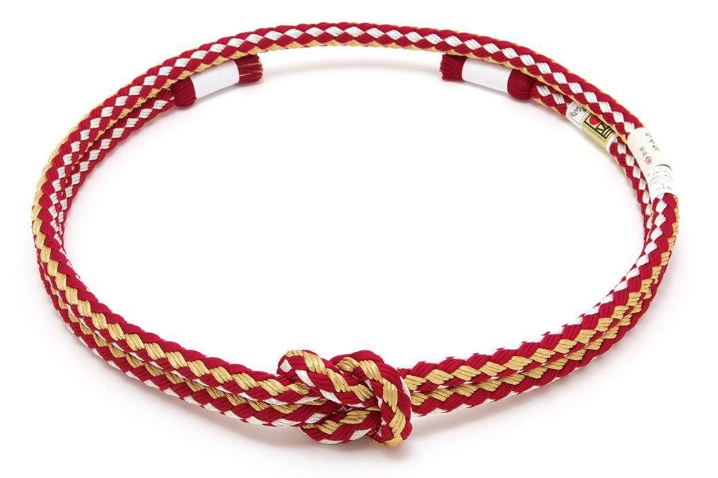 成人式の振袖を彩る帯締め