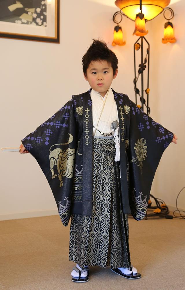 5歳の七五三におすすめの男児用七五三着物セット