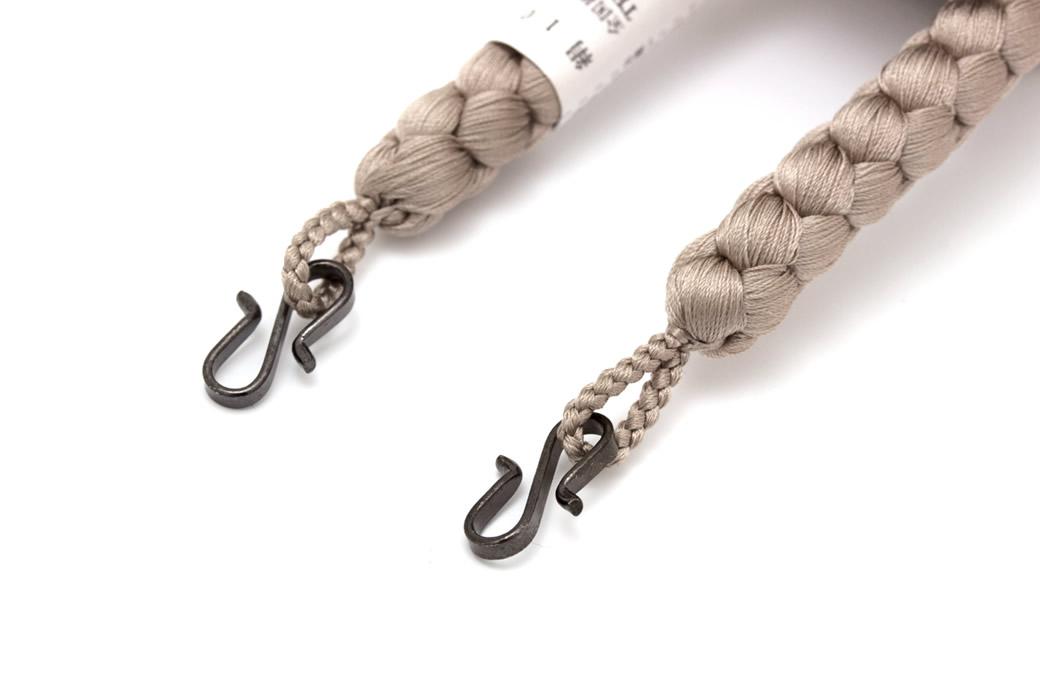 オシャレで粋な着物に紳士用羽織紐