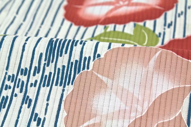 舟底袖のレディース浴衣