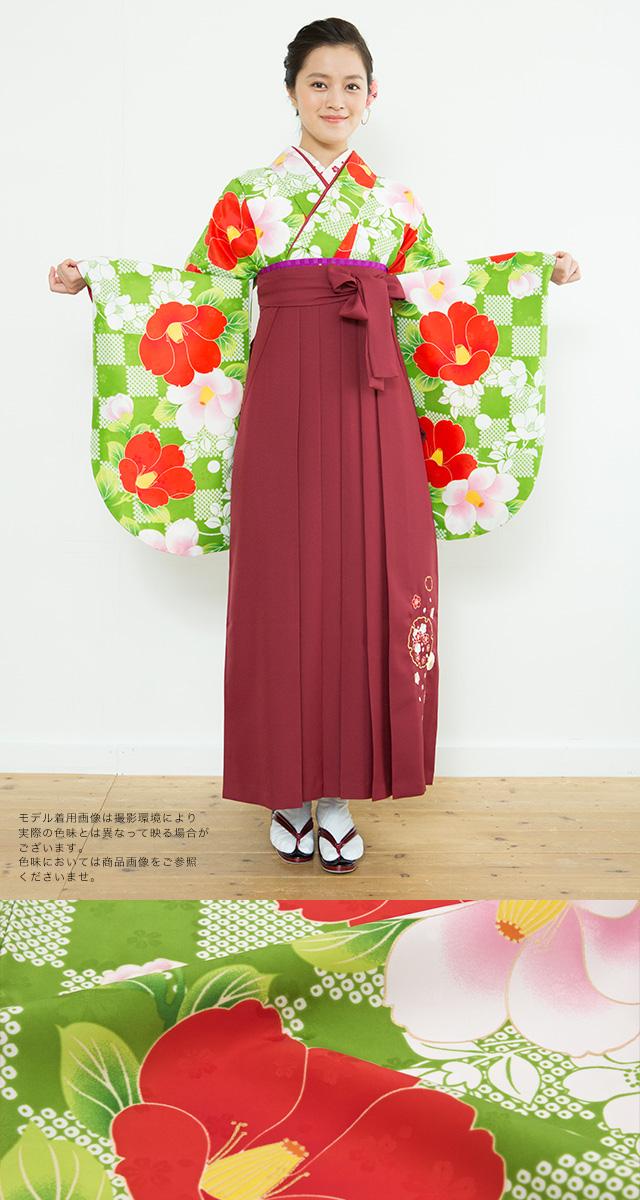 謝恩会におすすめなブランド『夢千代』の着物・袴セット