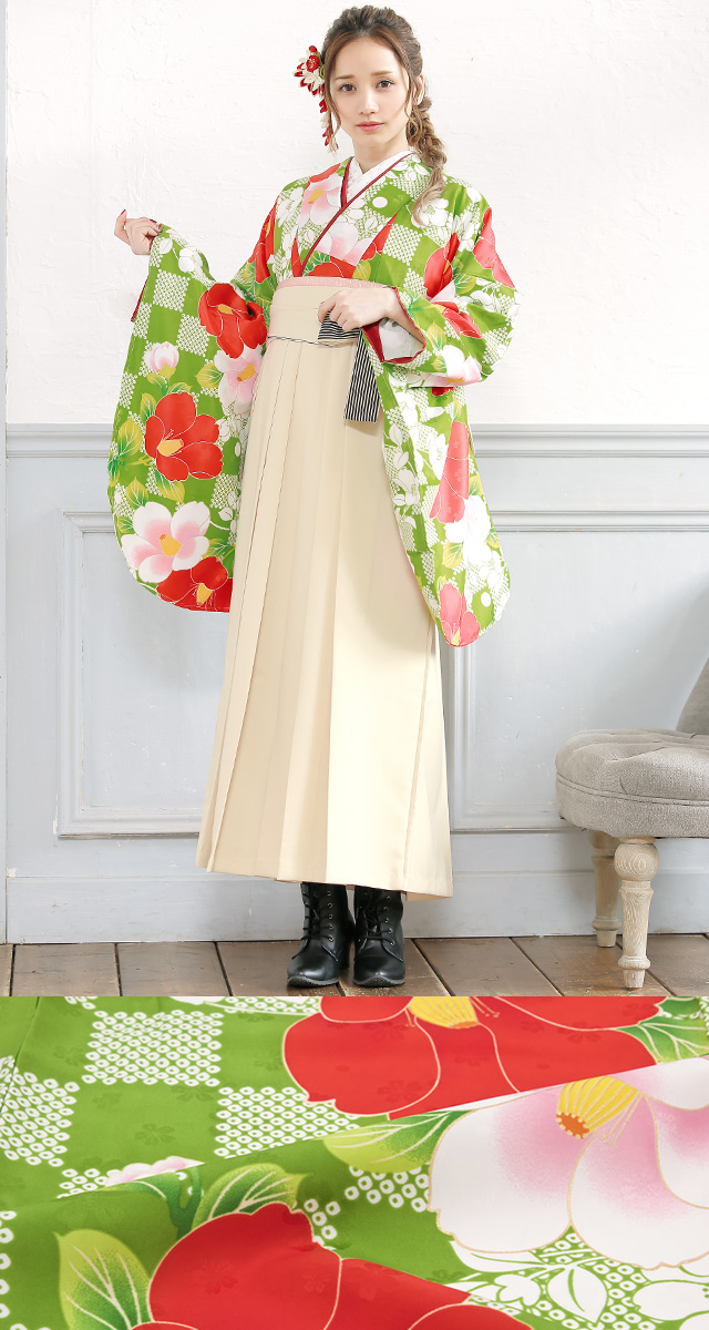 コーデ済みで安心着物・袴セット