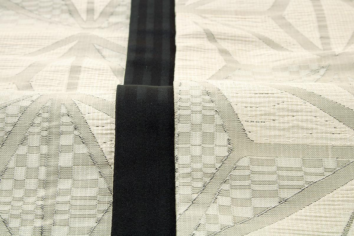 しじら織りのリバーシブル細帯