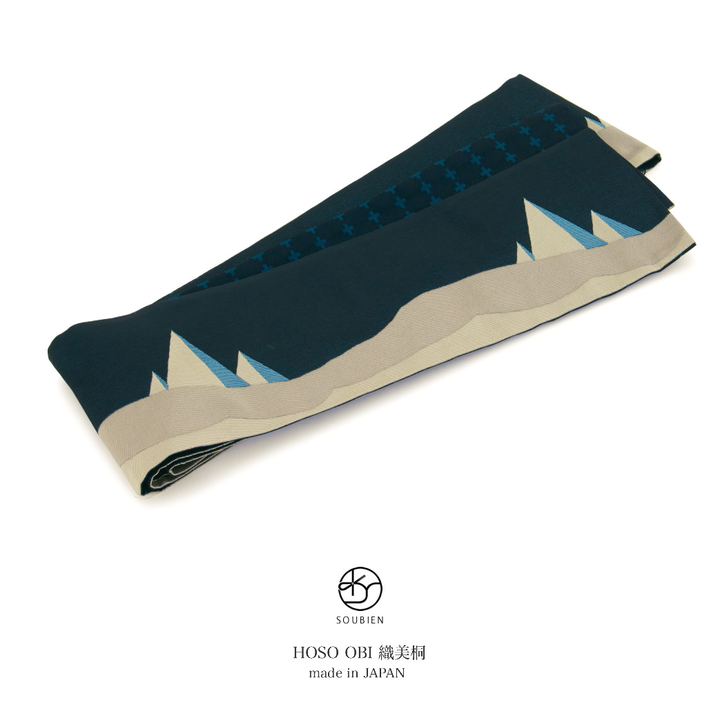 ブランド・おりびと(織美桐)のレディース半幅帯
