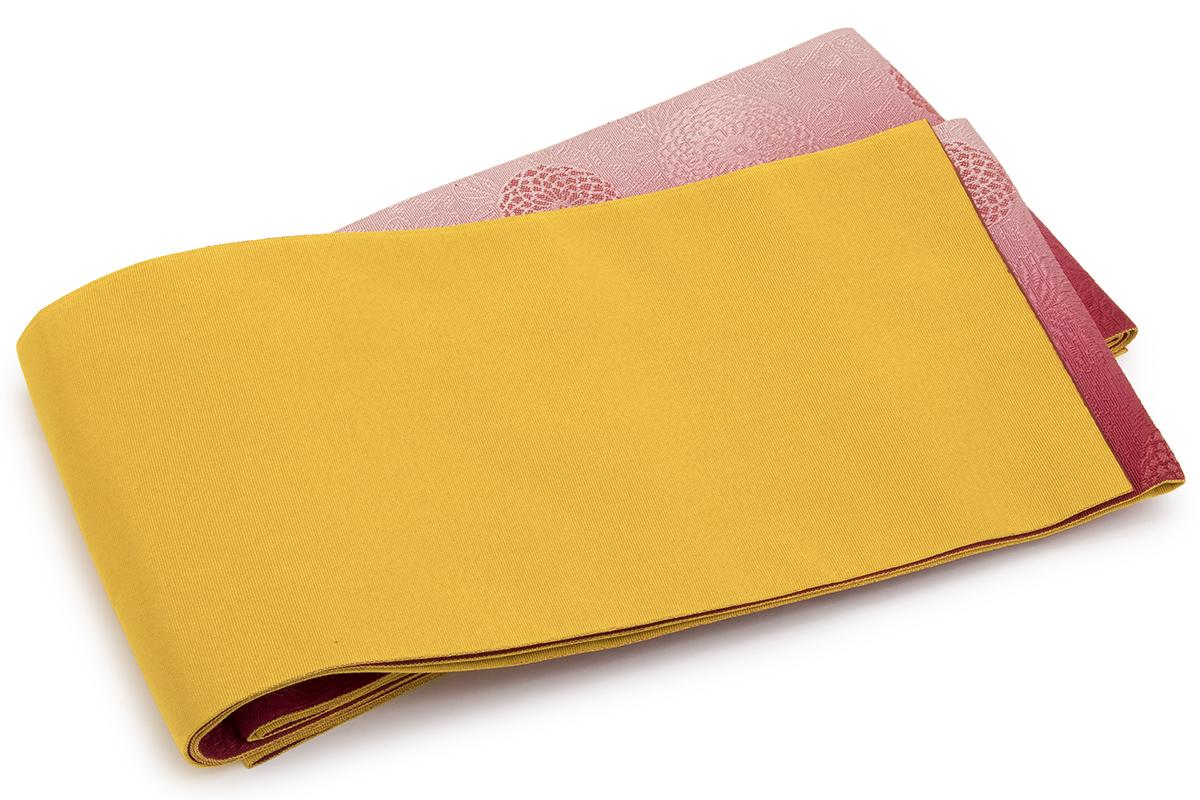 柔らかく締めやすい単衣仕立ての半幅帯