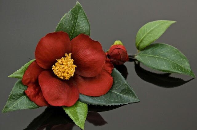 色々使えるお花のヘアアクセサリー
