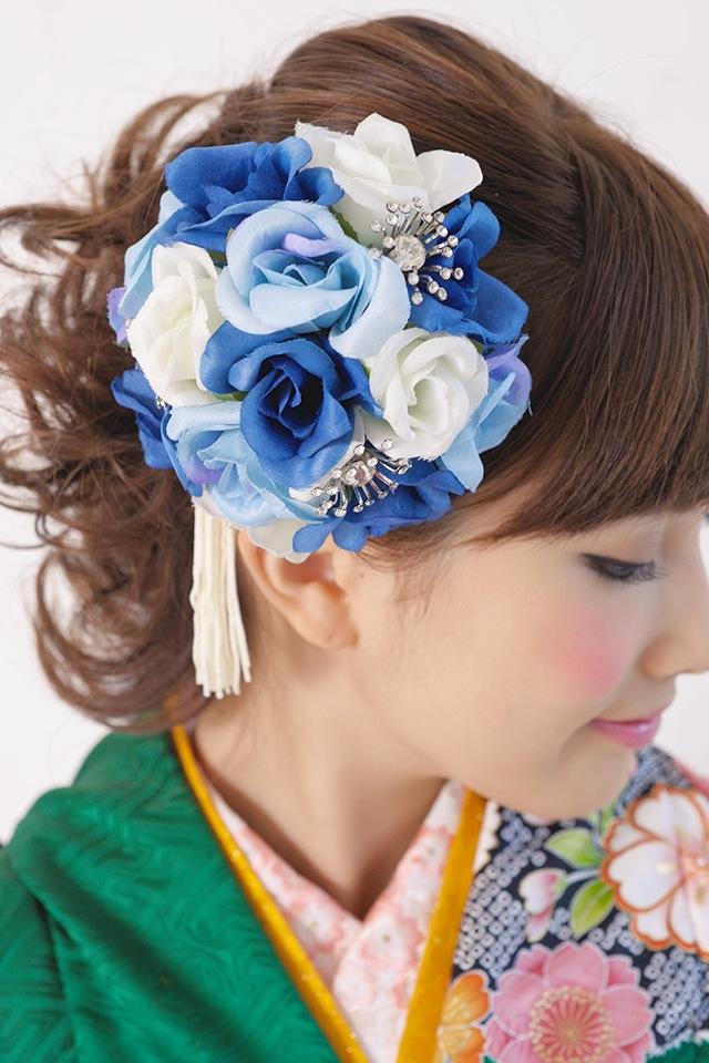 成人式など華やかな振袖にオススメな髪飾り