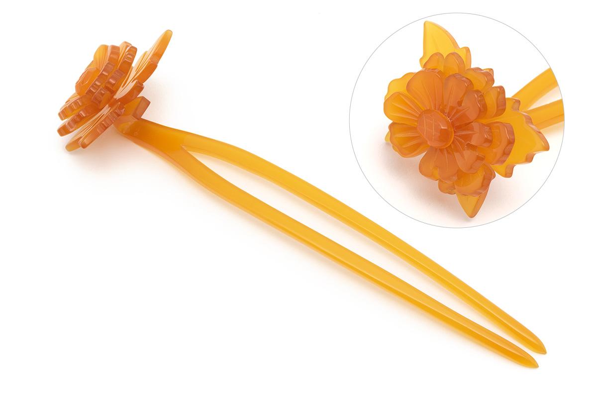 成人式の振袖にオススメな花魁かんざし4本セット