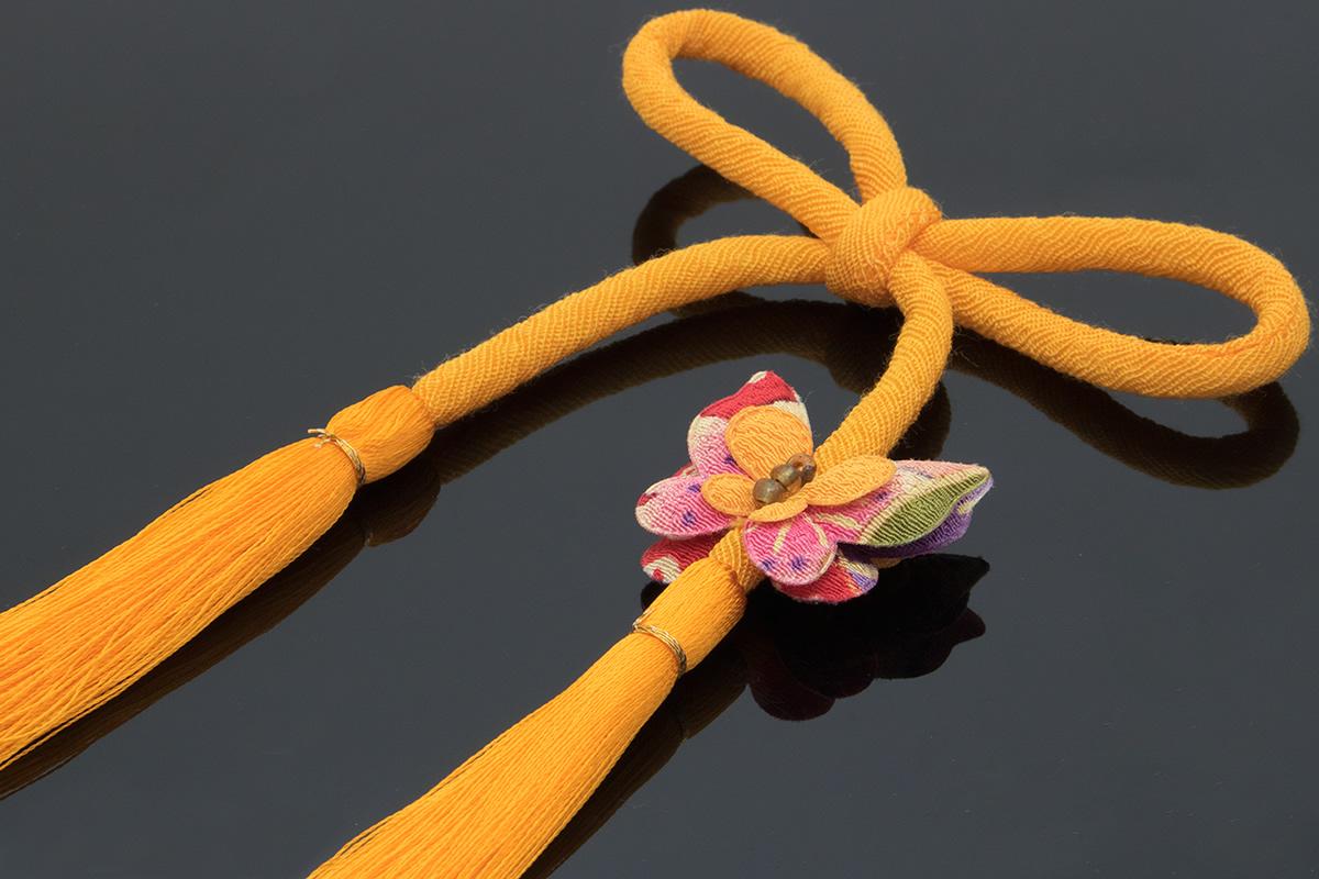 浴衣にもお似合いな丸ぐけ飾り紐