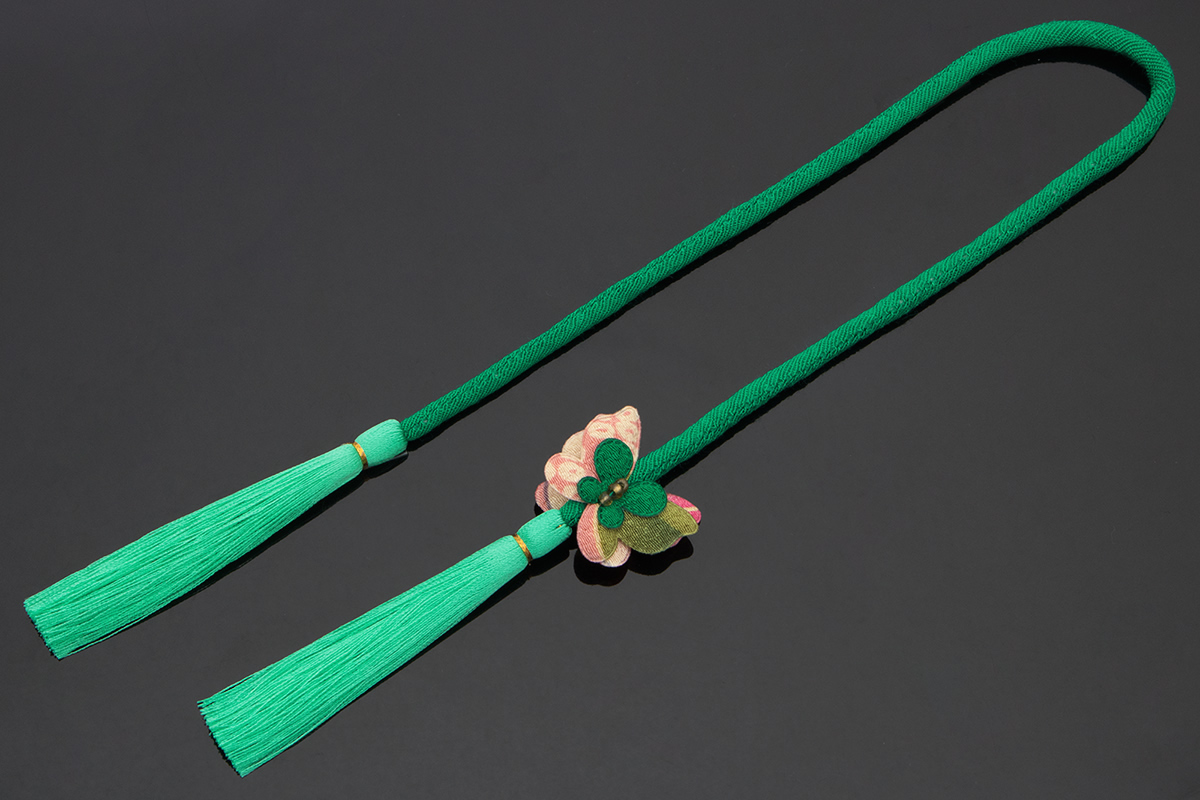 帯飾りにもピッタリな丸ぐけ飾り紐