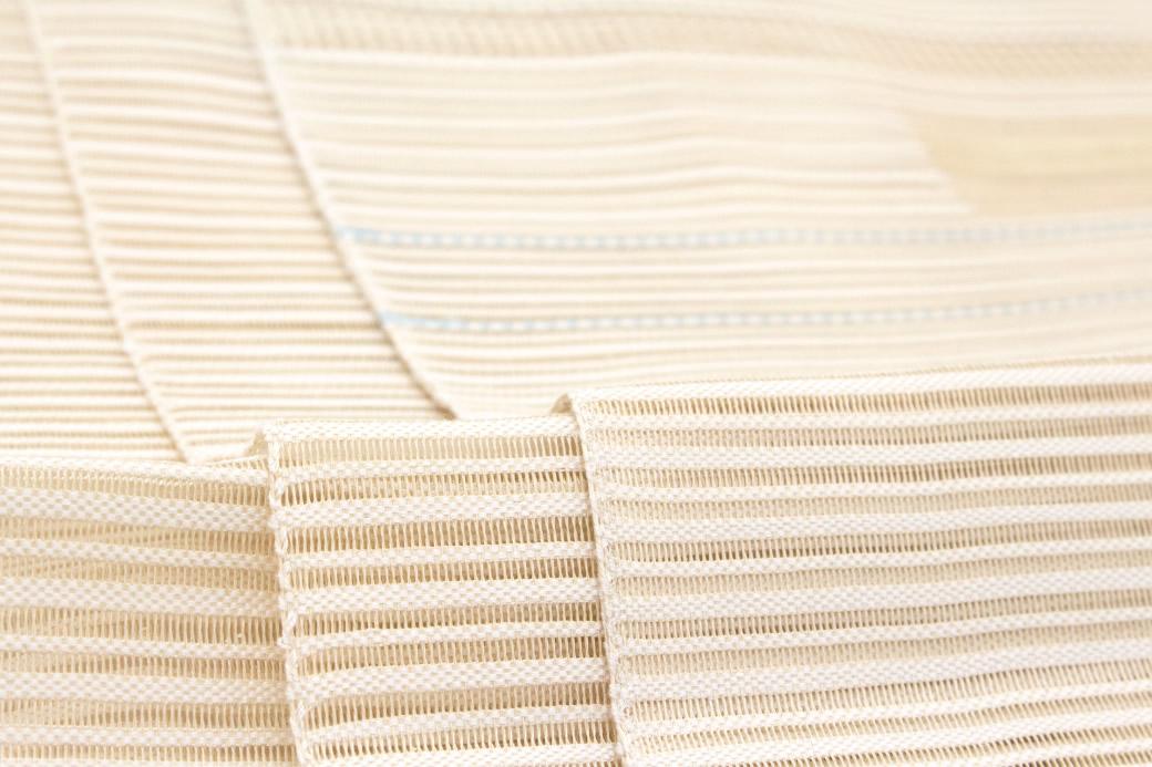 絹の風合いが上品な夏用の八寸名古屋帯
