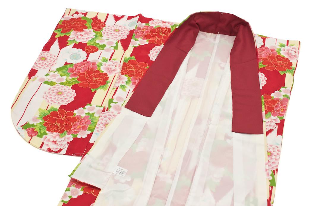 ブランド『夢千代』による袴にお似合いな二尺袖着物セット