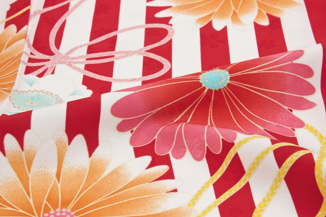 謝恩会におすすめなブランド『夢千代』の二尺袖着物セット
