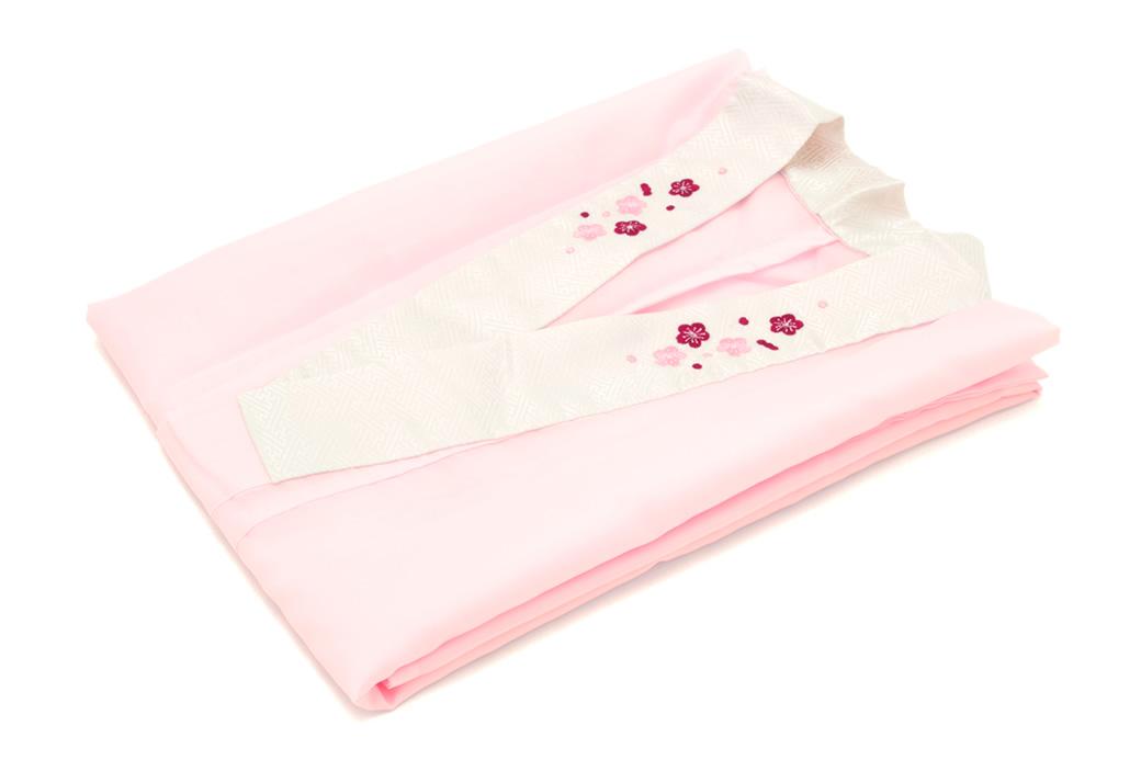 二尺袖にぴったりな刺繍衿付き襦袢