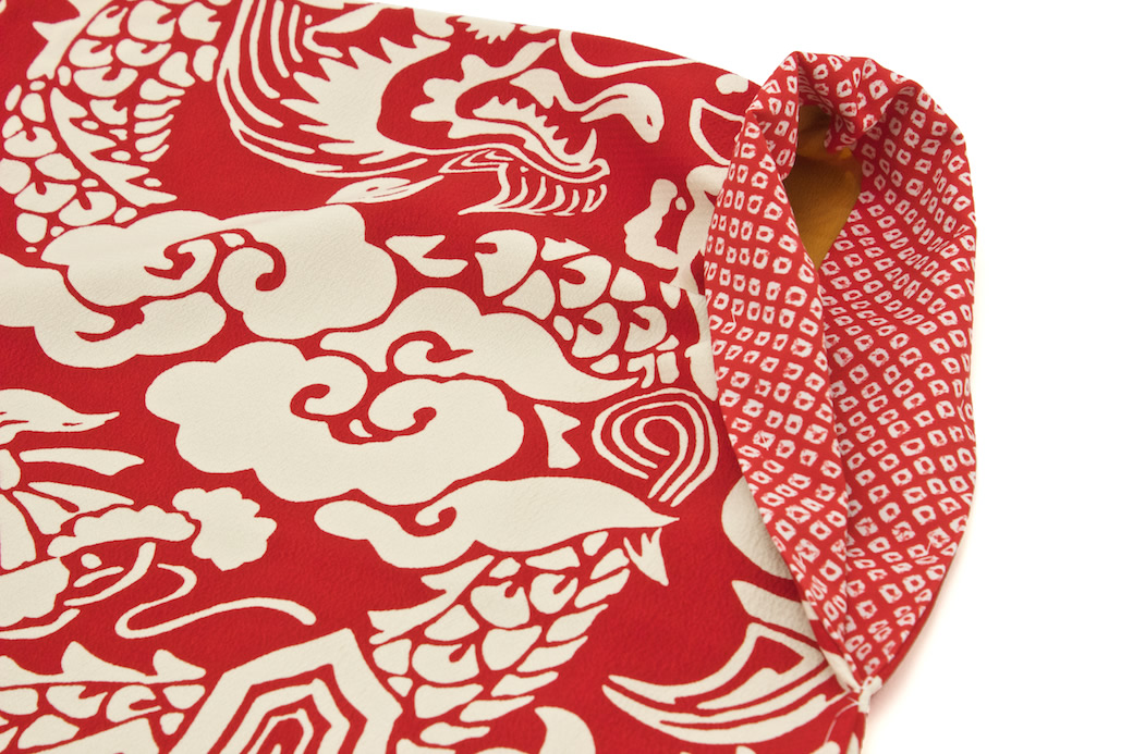 ブランド『芸艸堂(うんそうどう)』の袴用二尺袖着物