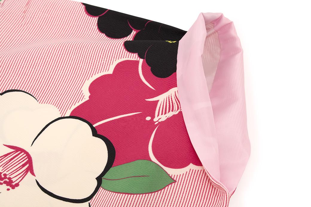袴に合わせて着たい二尺袖着物