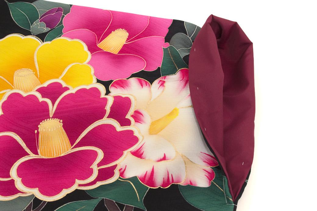 ブランド『モダンアンテナ』による袴にお似合いな二尺袖着物セット