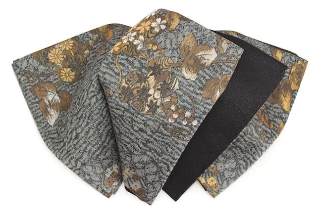 カジュアル着物にも合う西陣織袋帯