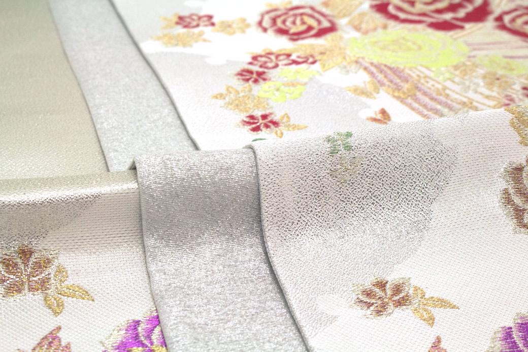 色無地や小紋の着物に合う西陣織袋帯