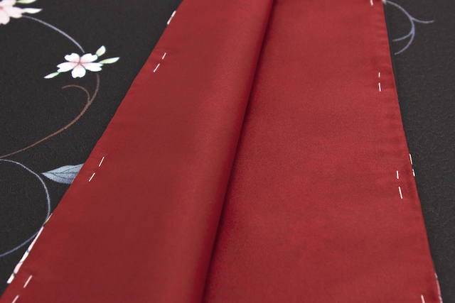 ナカノヒロミチの花柄プレタ着物