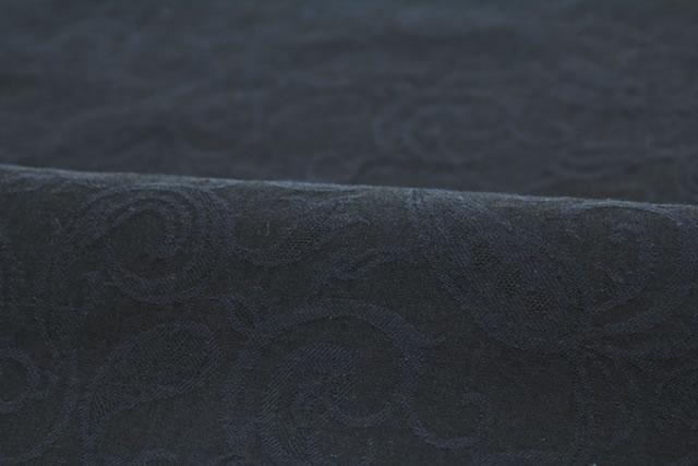ペイズリーが施されたプレタ単衣着物
