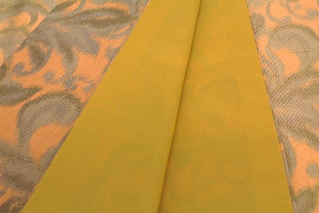 レトロな柄のプレタ袷着物