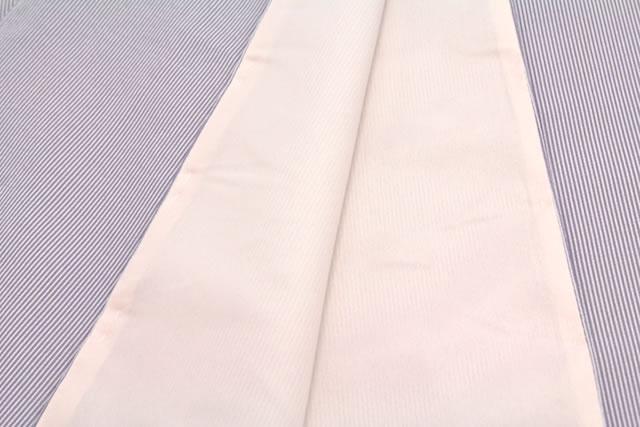 シンプルな柄のプレタ袷着物